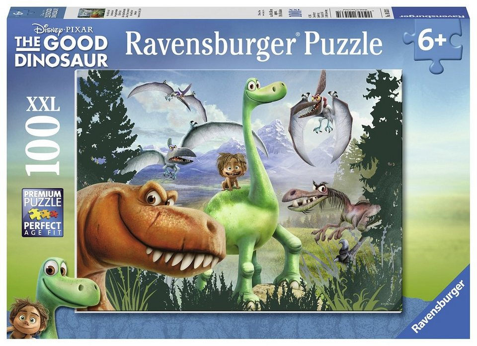 Ravensburger Puzzle, 100 Teile, »Disney-The Good Dinosaur«