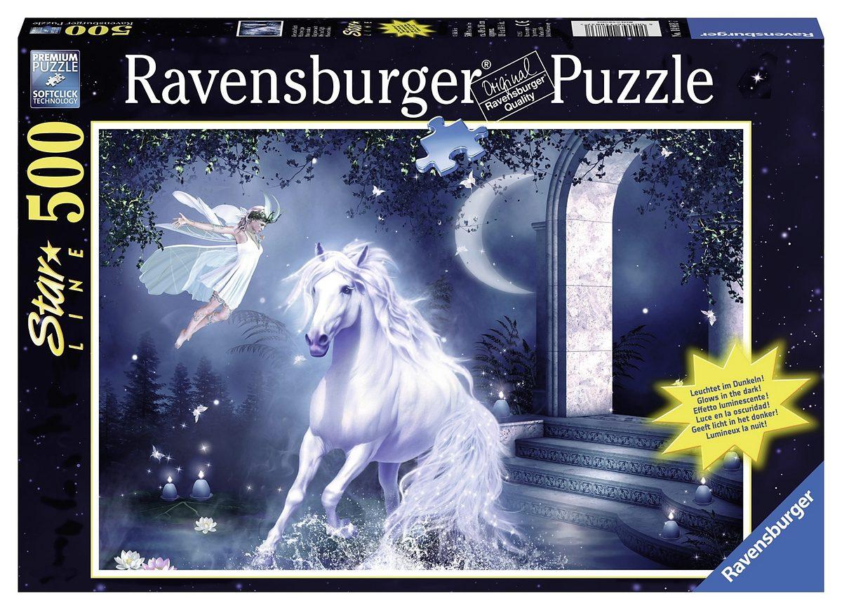 Ravensburger Leuchtpuzzle, 500 Teile, »Mystische Nacht«