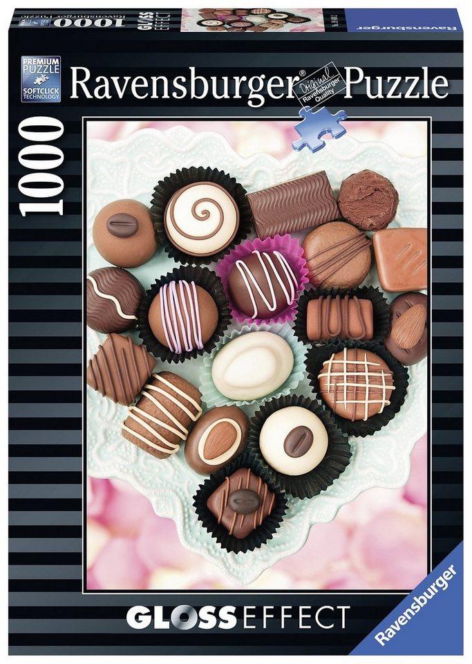 Ravensburger Puzzle mit Gloss-Effect, 1000 Teile, »Süße Versuchung«