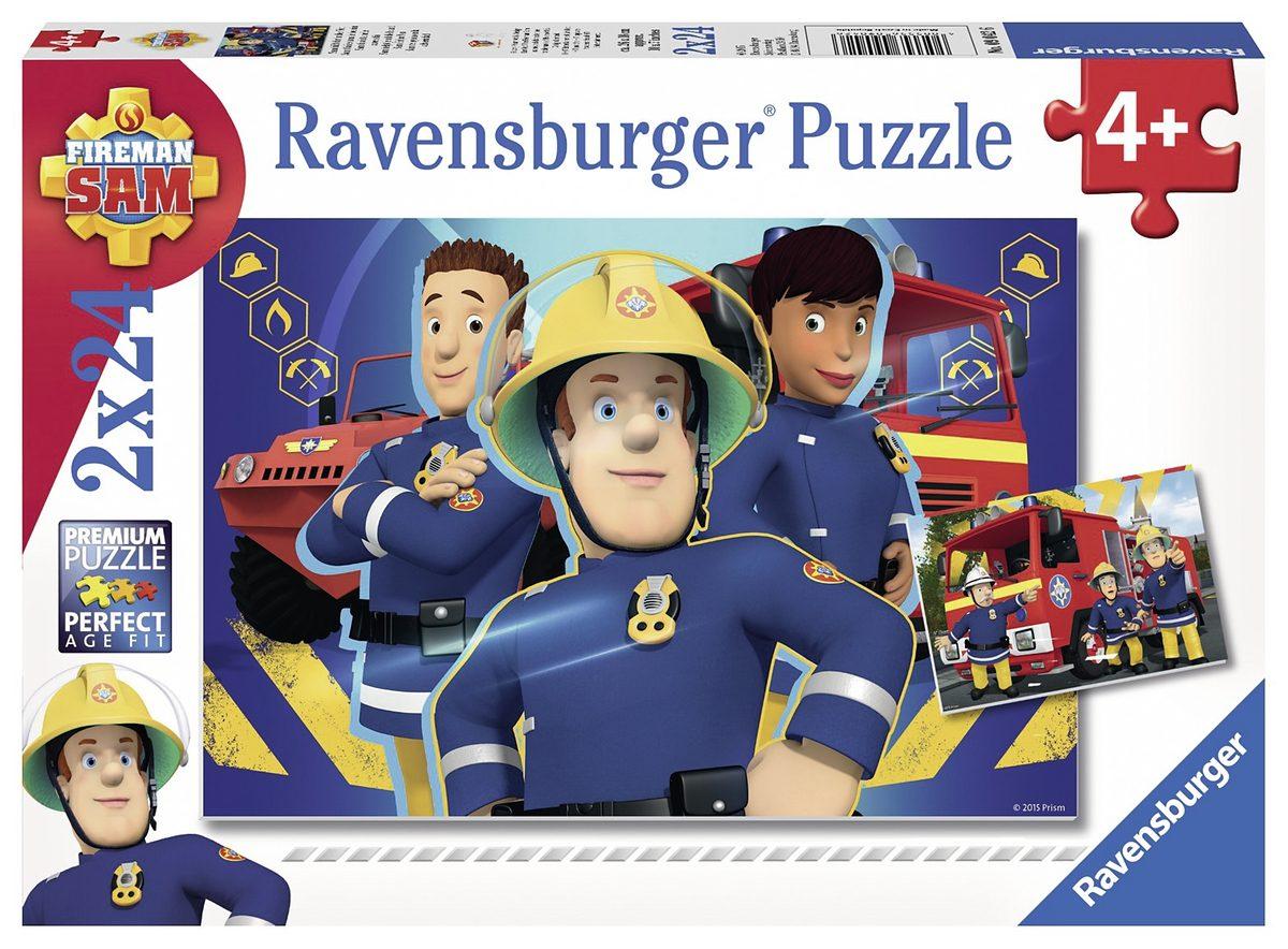 Ravensburger Puzzle, 2x24 Teile, »Sam hilft dir in der Not«