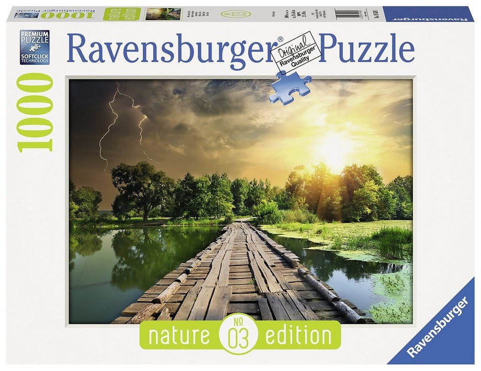 Ravensburger Puzzle, 1000 Teile, »Mystisches Licht - Nature Edition«