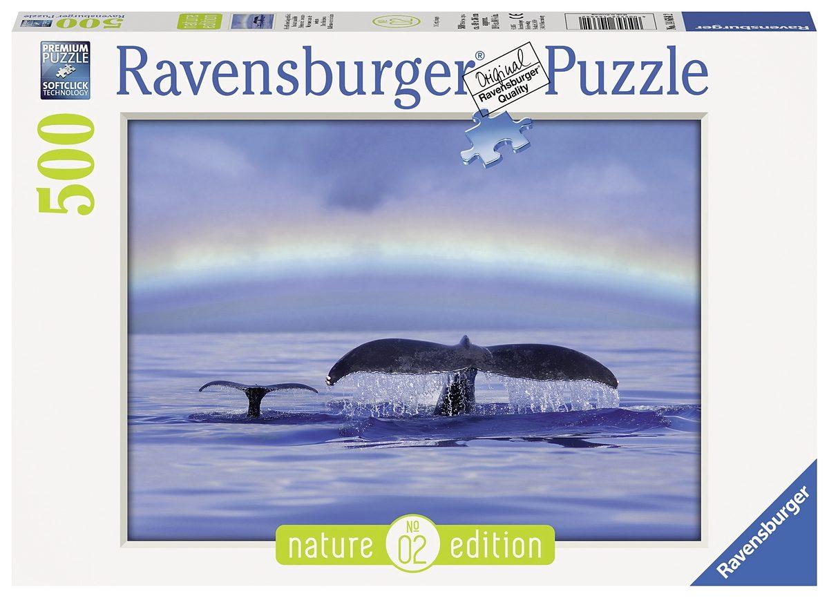 Ravensburger Puzzle, 500 Teile, »Friedlicher Augenblick - Nature Edition«
