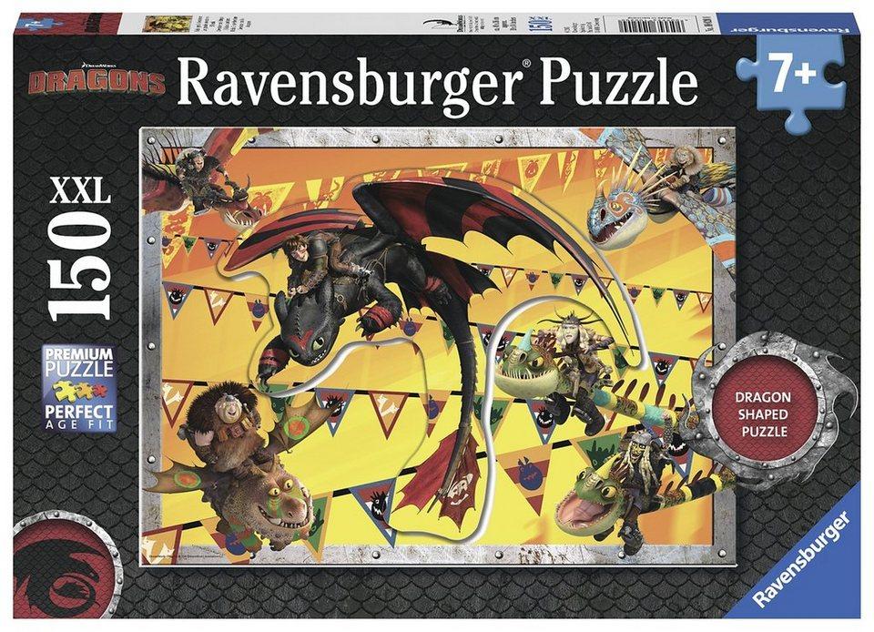 Ravensburger Puzzle, 150 Teile, »Dragons-Hicks große Abenteuer«