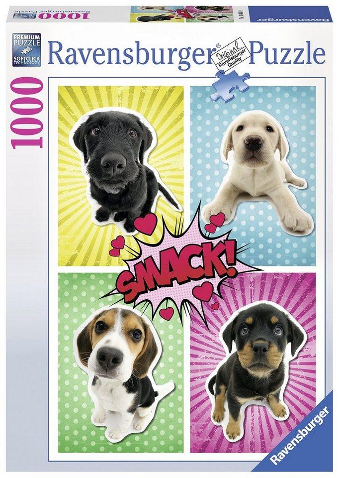 Ravensburger Puzzle, 1000 Teile, »Hunde Pop Art«