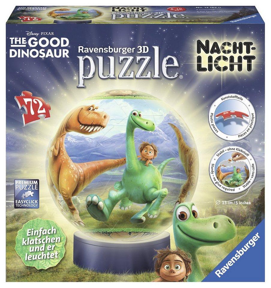 Ravensburger 3D Puzzleball mit Nachtlichtfunktion, »Disney-The Good Dinosaur«