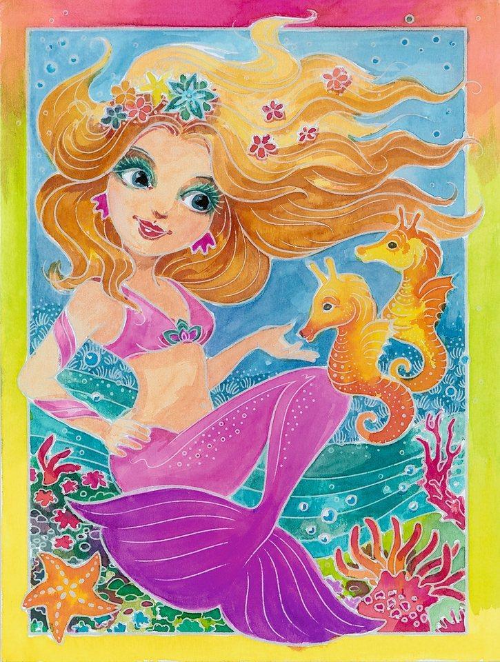 Ravensburger Aquarelle, »Meerjungfrauen«