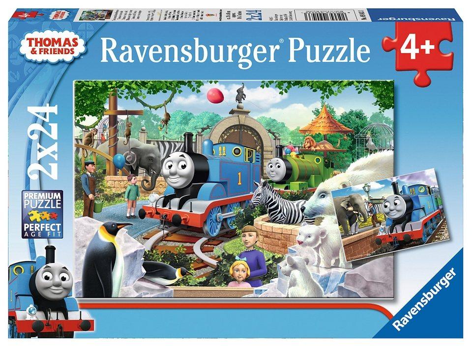 Ravensburger Puzzle, 2x24 Teile, »Thomas & Friends«