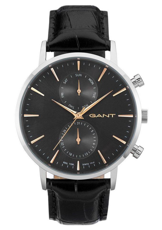 Gant Multifunktionsuhr »PARK HILL DAY-DATE, W11202« in schwarz