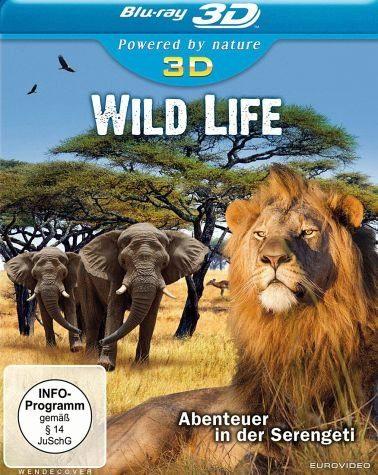 Blu-ray »Wild Life 3D - Abenteuer in der Serengeti...«