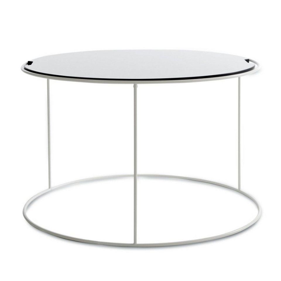 SITTING BULL Sitting Bull Tisch medium Outdoor, weiß in Weiss