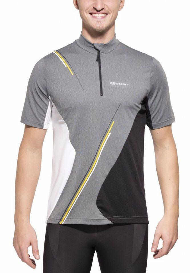 Gonso Radtrikot »Jeremy Bike-Shirt Herren« in grau