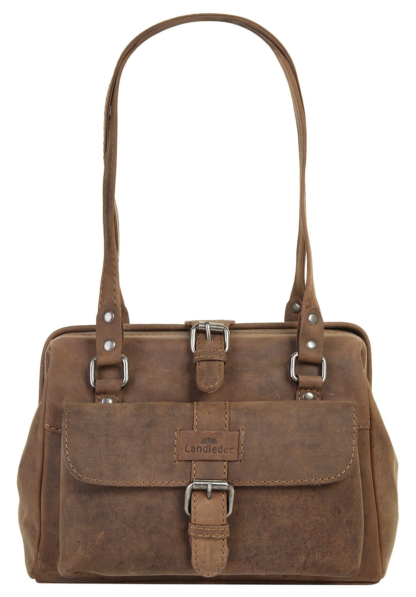 Landleder Leder Damen Handtasche »OLD SCHOOL«