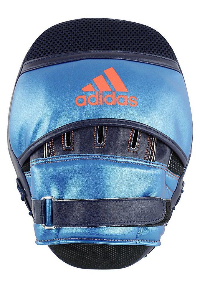 adidas Performance Pratzen, »Super Tech Advanced Focus Mitt« in blau-orange