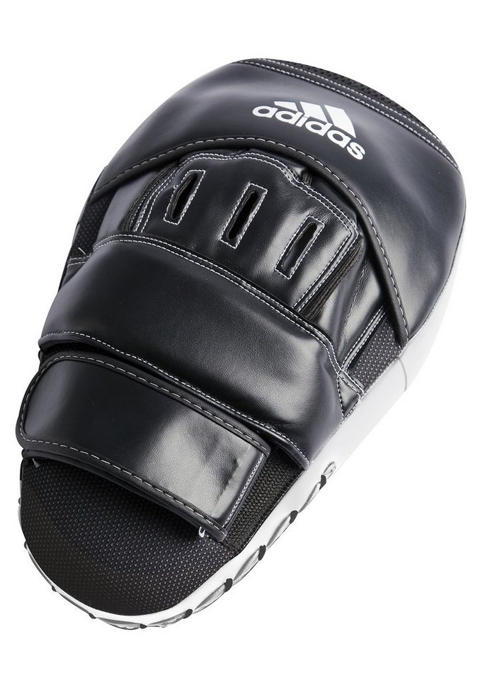 adidas Performance 2er-Set Pratzen, »Training Curved Focus Mitts Long« in schwarz