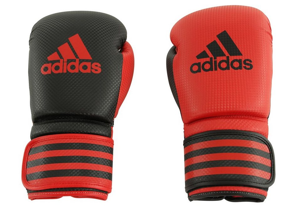 adidas Performance Boxhandschuhe, »Power 200 Duo« in schwarz-rot