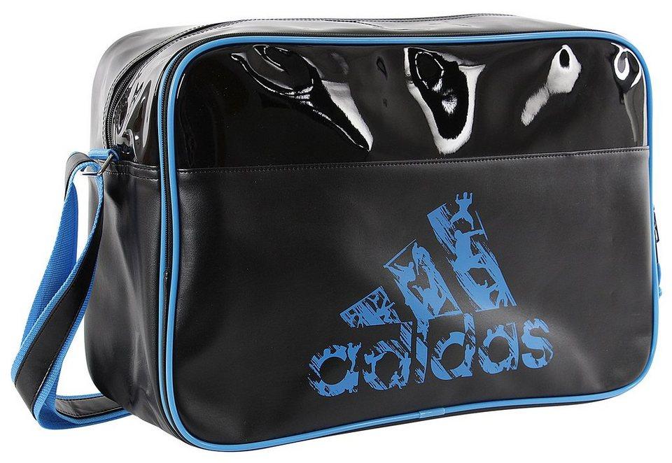 adidas Performance Sporttasche, »Leisure Messenger« in schwarz-blau