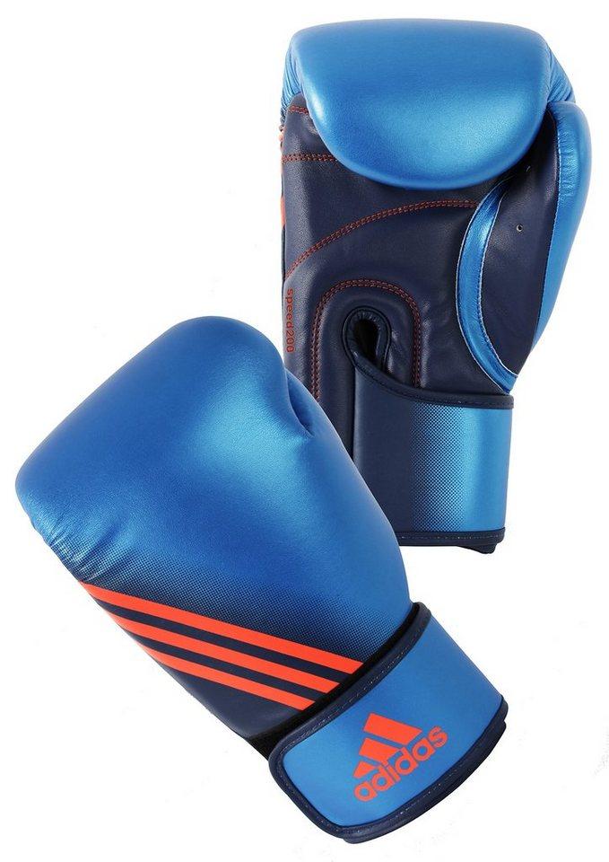 adidas Performance Boxhandschuhe, »Speed 200« in blau-orange