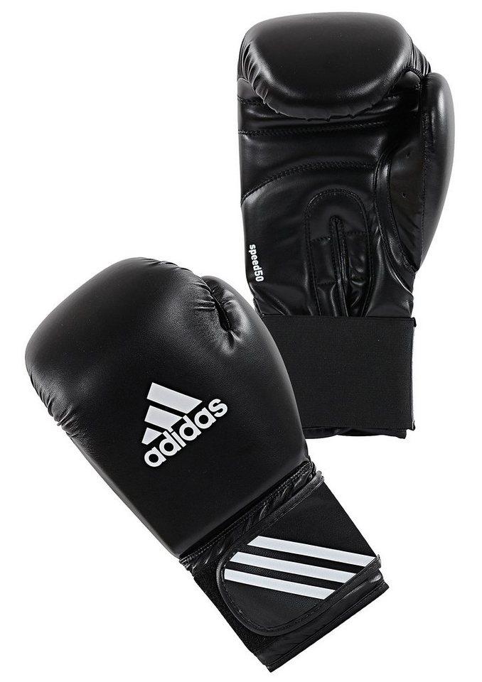 adidas Performance Boxhandschuhe, »Speed 50« in schwarz
