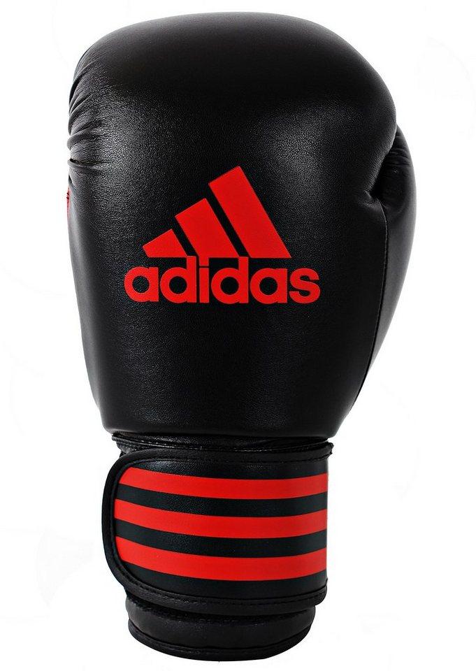 adidas Performance Boxhandschuhe, »Power 100« in schwarz-rot