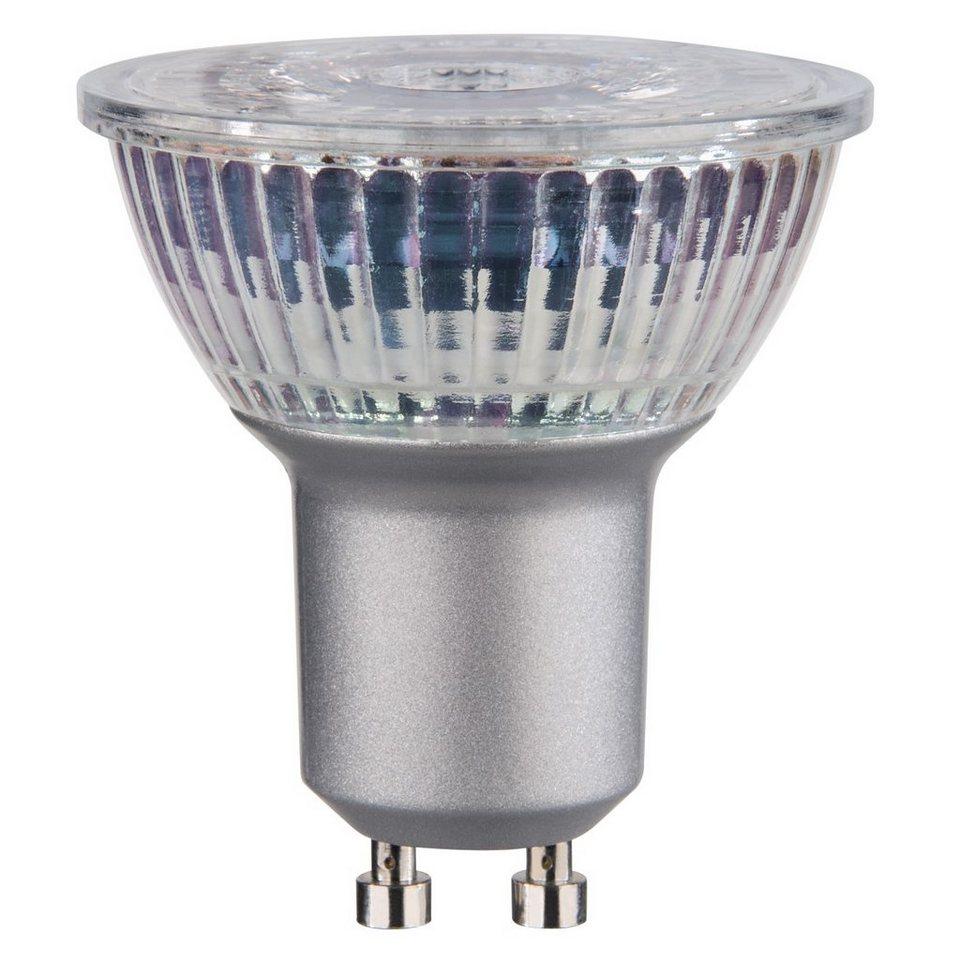 Xavax LED-Reflektorlampe, 4,4W, GU10, PAR16, Warmweiß in Silber