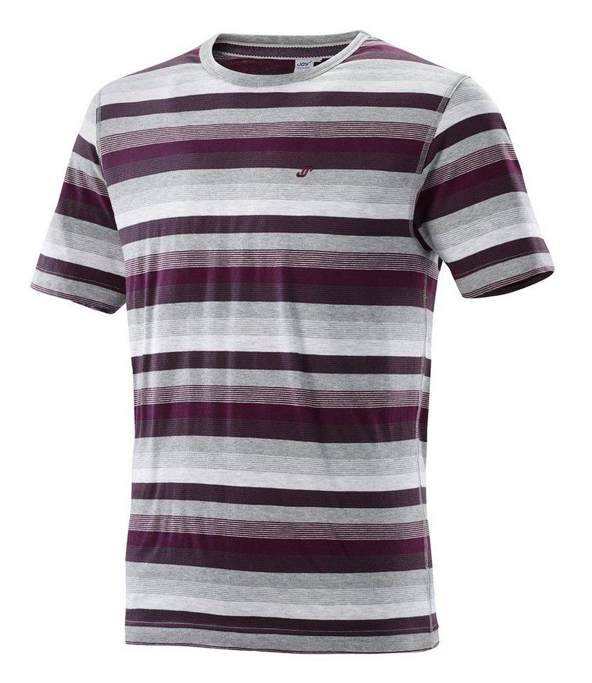 JOY sportswear T-Shirt »HELGE« in eggplant stripes