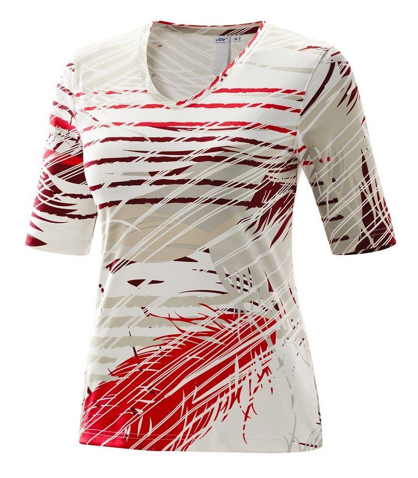 JOY sportswear T-Shirt »HARMONY« in tizian red print