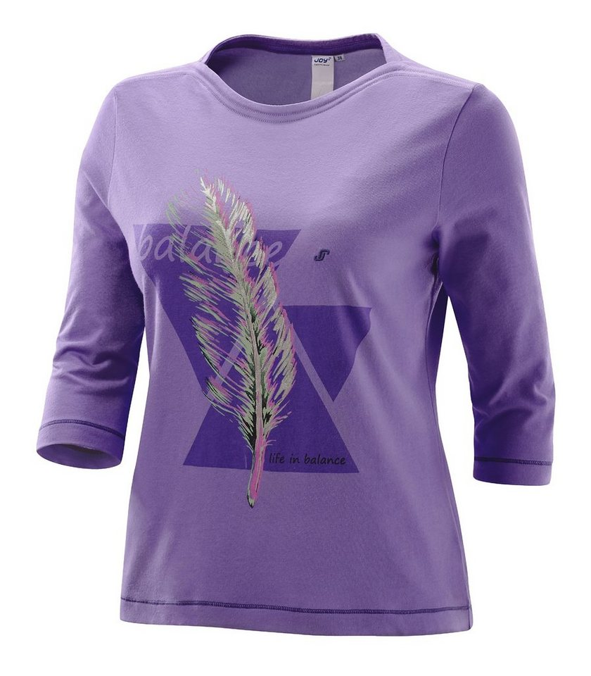 JOY sportswear T-Shirt »ZOJA« in iris light