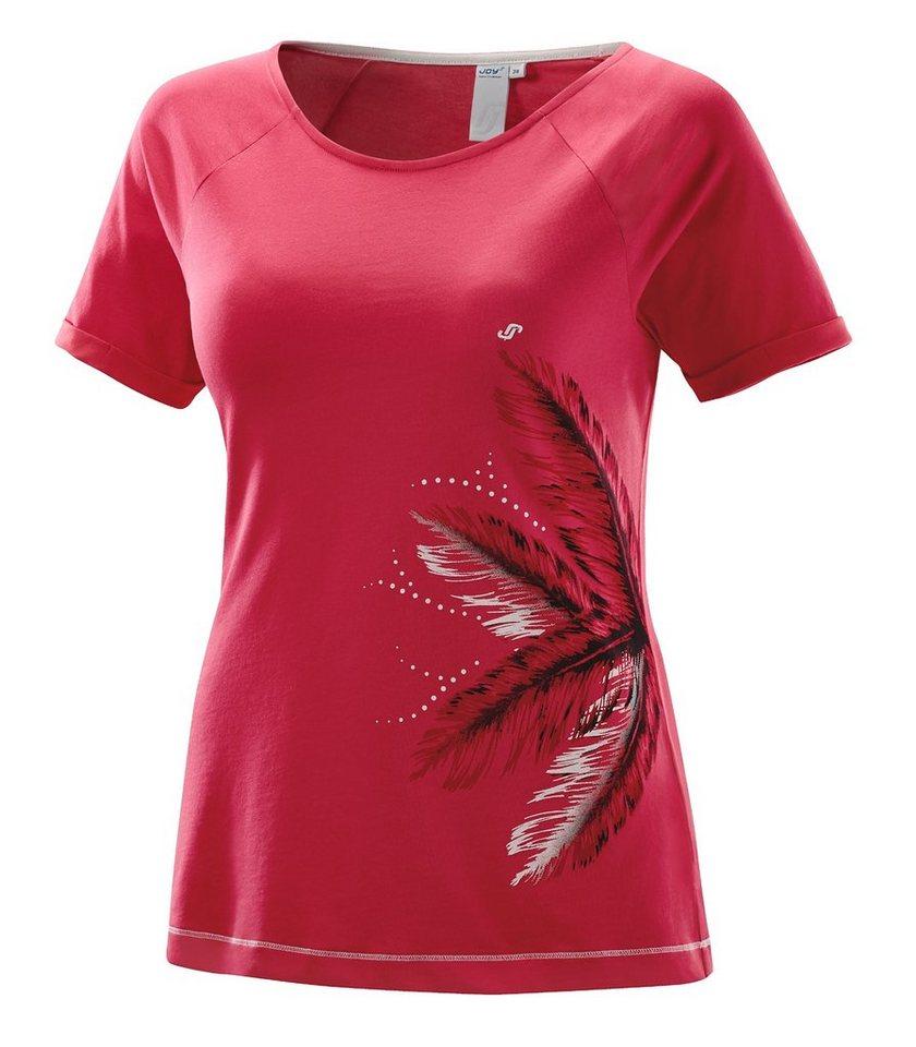 JOY sportswear T-Shirt »WENDY« in tizian red