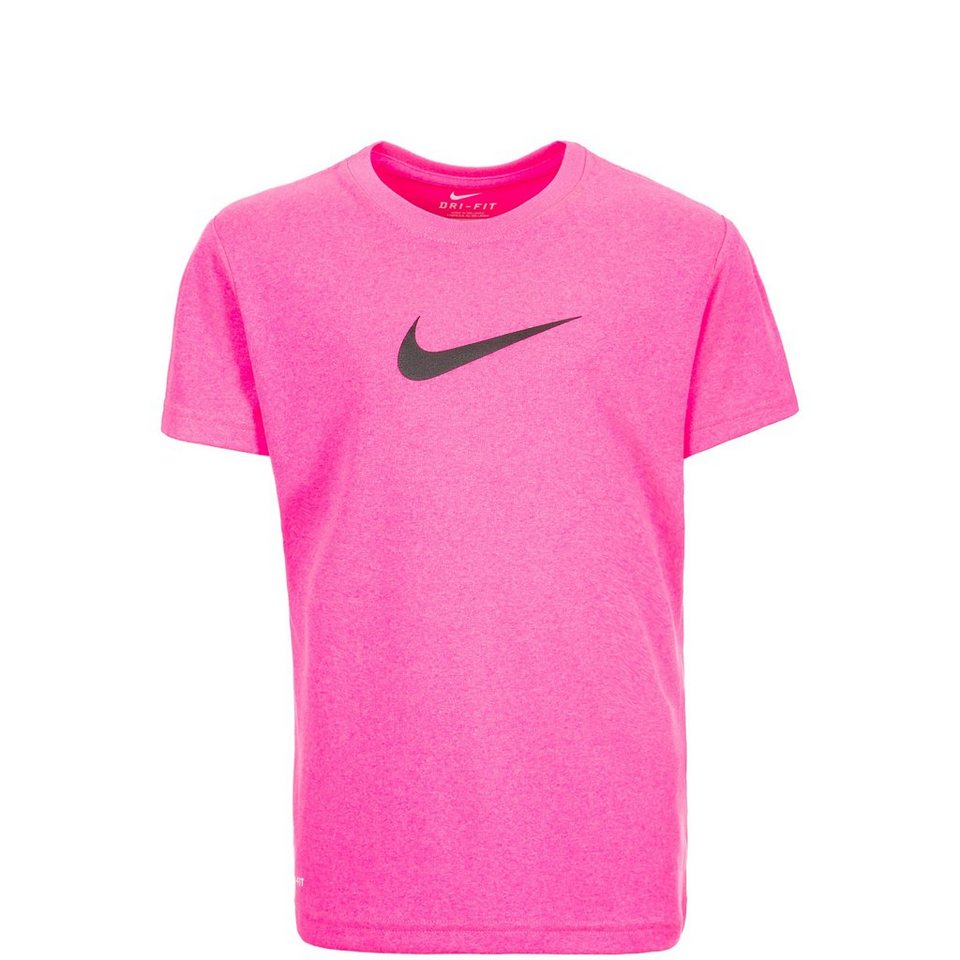 NIKE Legend Top Trainingsshirt Kinder in pink / schwarz