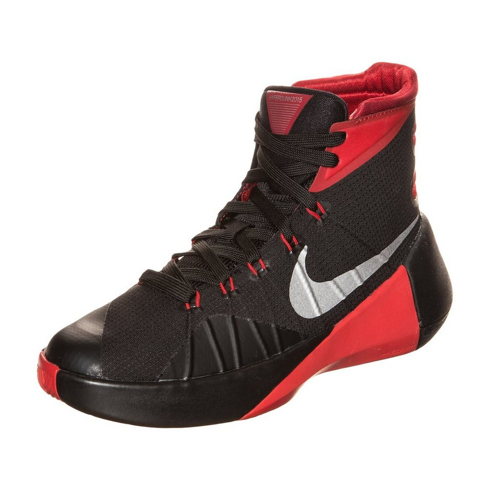 NIKE Hyperdunk 2015 Basketballschuh Kinder in schwarz / rot