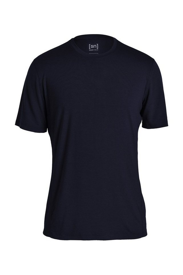 Super.Natural Merino-Shirt »M BASE TEE 175« in OCEAN DEEP