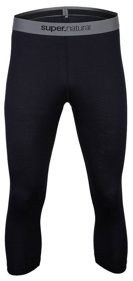Super.Natural Merino Tight »M BASE 3/4 TIGHT 175« in DARK BLUE