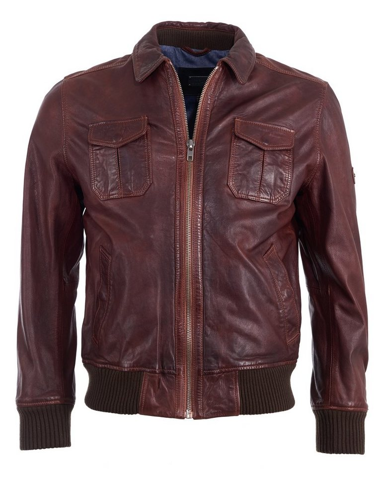 JCC Lederblouson, Herren »M Bomber« in brown