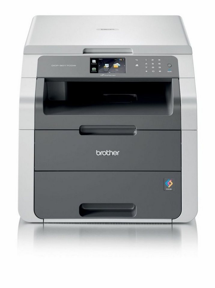 Brother Multifunktionsdrucker »DCP-9017CDW 3in1 Multifunktionsdrucker« in Grau