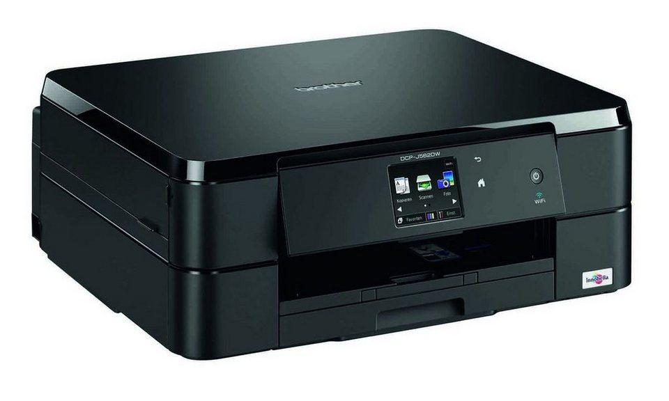 Brother Tintenstrahl-Multifunktionsdrucker »DCP-J562DW 3in1« in Schwarz