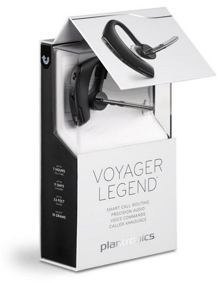 Plantronics Headset »Bluetooth Headset Voyager™ Legend« in Schwarz