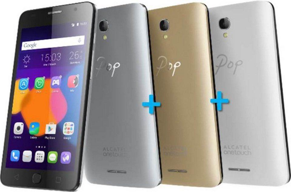 Alcatel Smartphone »POP Star 5022D (classy pack)« in Silber