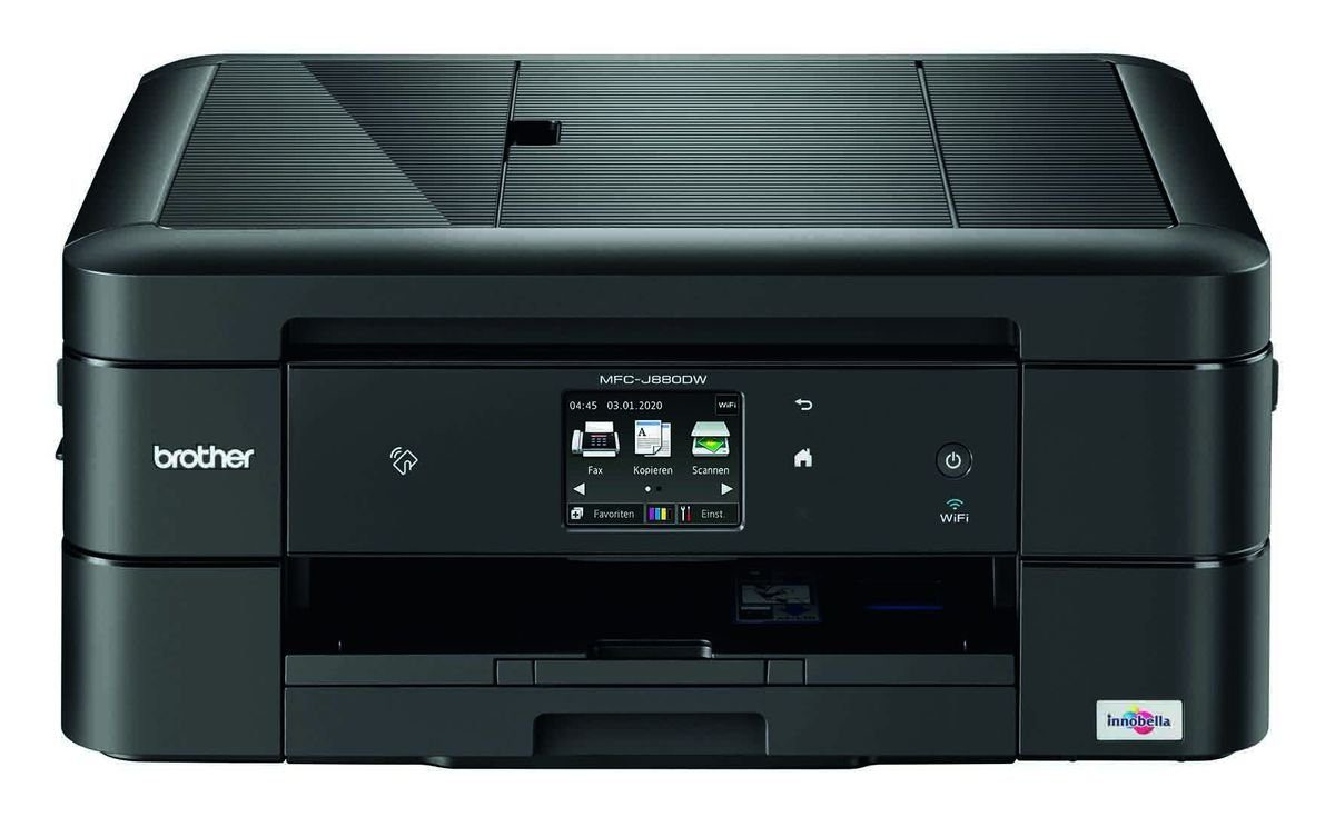 Brother Tintenstrahl-Multifunktionsdrucker »MFC-J880DW 4in1 Multifunktionsdrucker«