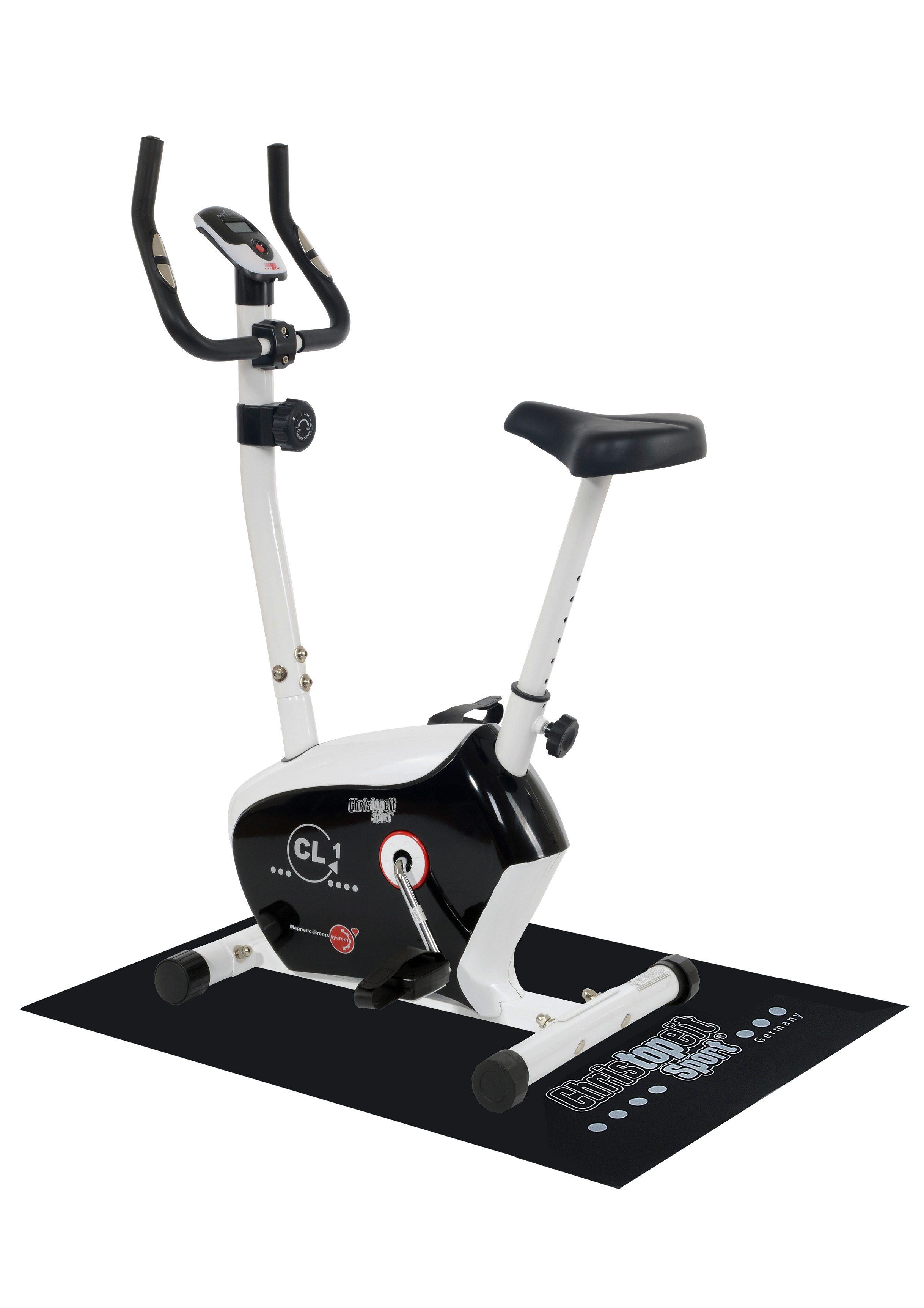 Christopeit Sport® Heimtrainer, inkl. Unterlegmatte, »CL 1«