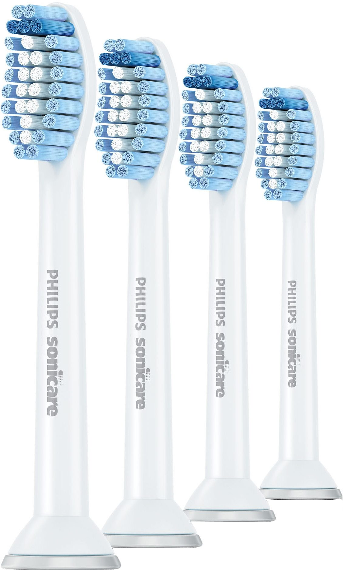 Philips Sonicare Ersatzbürsten HX6054/07 ProResults Sensitive, 4er Pack