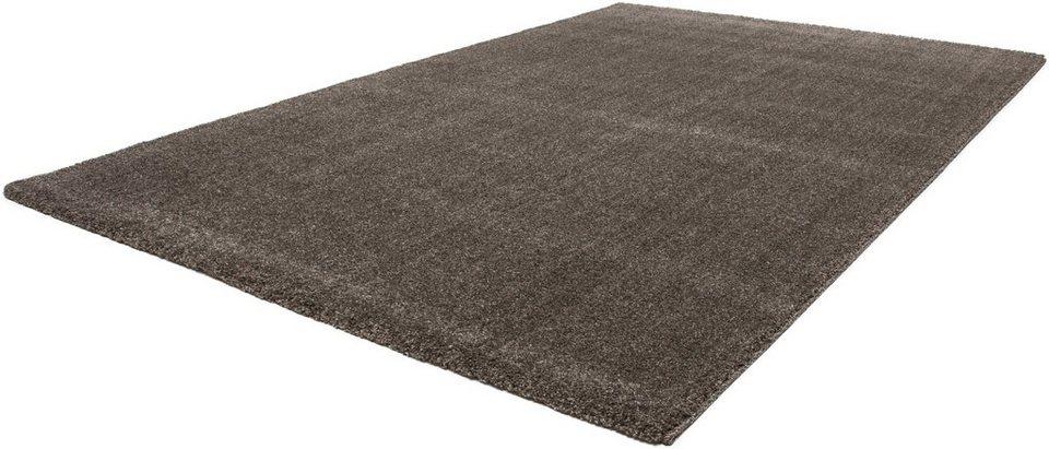 Teppich, Lalee, »Valencia900«, gewebt in Taupe