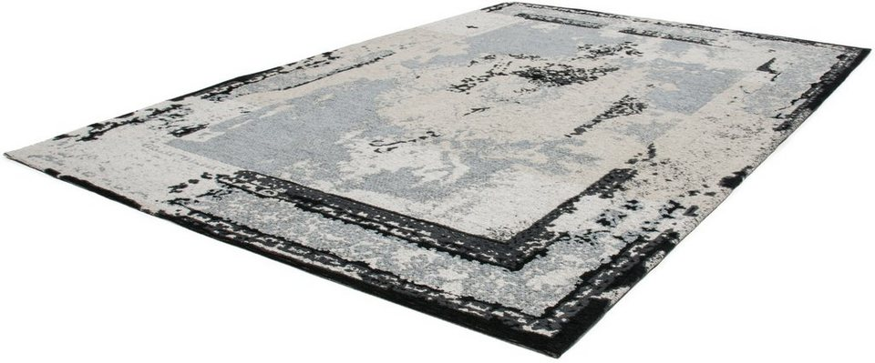 Teppich, Lalee, »Cocoon992«, handgewebt in Silber