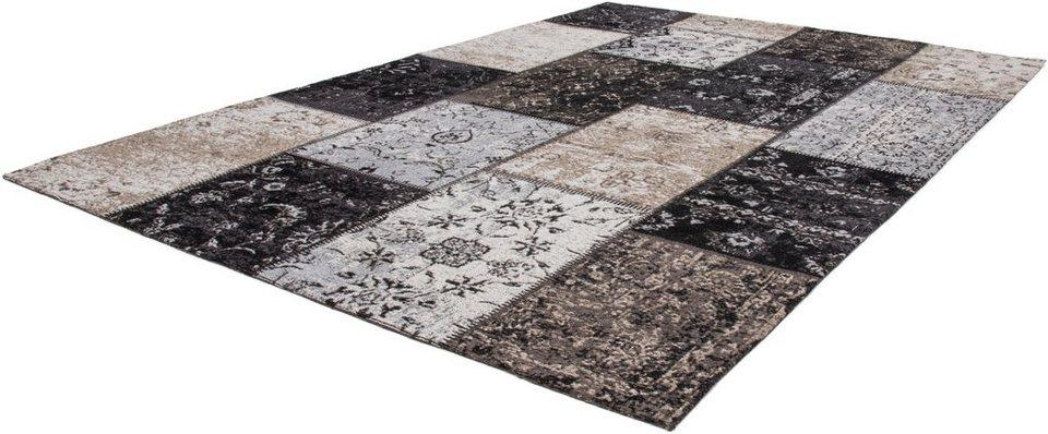 Teppich, Lalee, »Cocoon990«, handgewebt in Silber