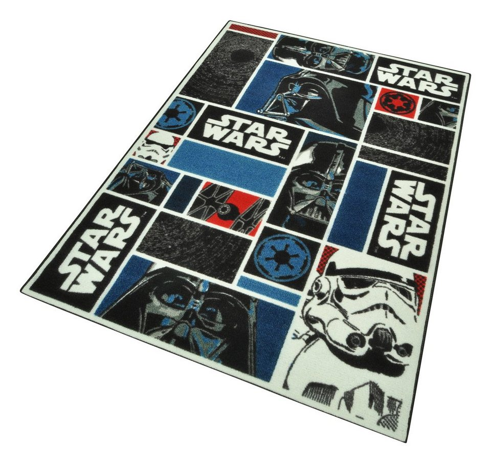 kinder teppich star wars icons maschinell getuftet online kaufen otto. Black Bedroom Furniture Sets. Home Design Ideas