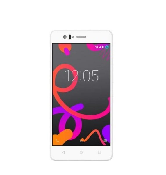 bq Smartphone »Aquaris E5s HD 4G 16+2GB« in weiss
