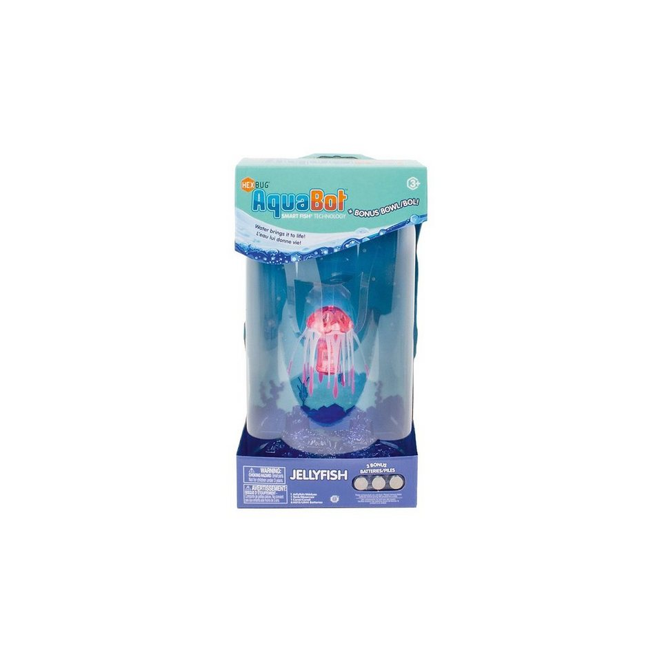 Hexbug aquabot jelly fish qualle mit beh lter otto for Aquabot smart fish