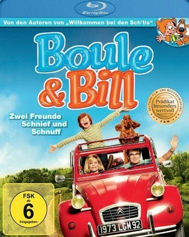 Blu-ray »Boule & Bill - Zwei Freunde Schnief und Schnuff«