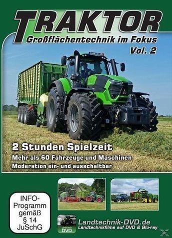 DVD »Traktor - Großflächentechnik im Fokus Vol. 2«