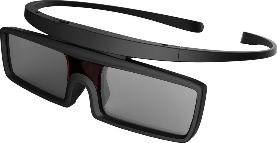 Hisense FPS3D08A 3D-Active-Shutter-Brille in Schwarz