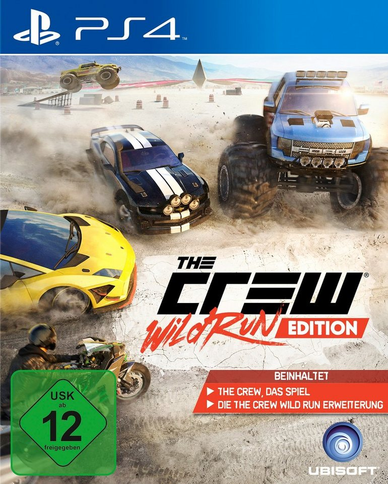PS4 The Crew Wild Run PlayStation 4